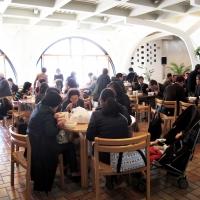 【日曜礼拝】(8) 礼拝後:階下エクレシアホール等に移動し、食事&交流会(週によって違います)