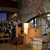 【日曜礼拝】(6) ~聖歌隊の素晴らしい賛美と共に~